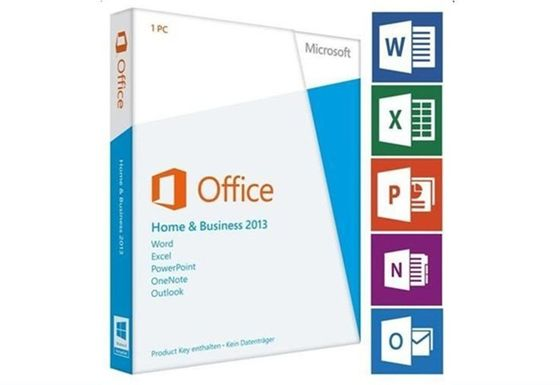 Porcellana Carta chiave 2013 di Microsoft Office del prodotto originale del professionista Deutsche Vollversion fabbrica