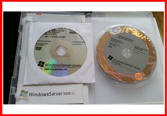 Porcellana Norma completa di Windows Server 2008 R2 di versione, impresa R2 del server 2008 di vittoria distributore